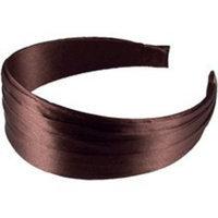 Smoothies Pleated Wide Headband-Mahogany 01207