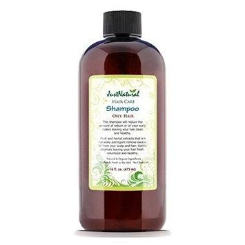 JustNatural Organic Care Oily Hair Shampoo.