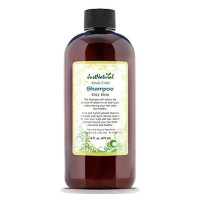 JustNatural Organic Care Oily Hair Shampoo.