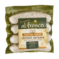 Al Fresco All Natural Chicken Sausage Roasted Garlic