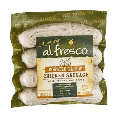 Al Fresco All Natural Chicken Sausage Roasted Garlic