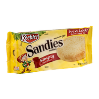 Keebler Sandies Cookies Simply Shortbread