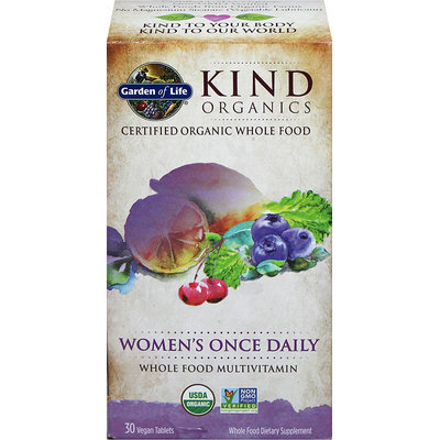 Garden Of Life KIND Organics Women's Once Daily -30 Tablets