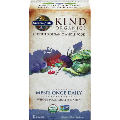 Garden of Life Kind Organics Men's Once Daily