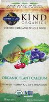 Garden of Life Kind Organics Organic Plant Calcium