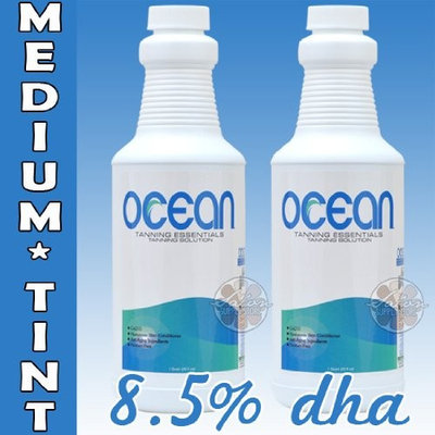Salon Supply Store 1 Half Gallon (2 Quarts - 64 Ounces) of Ocean 8.5 %