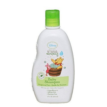 Disney Fragrance Free Baby Shampoo, 15 Ounce (Pack of 2)