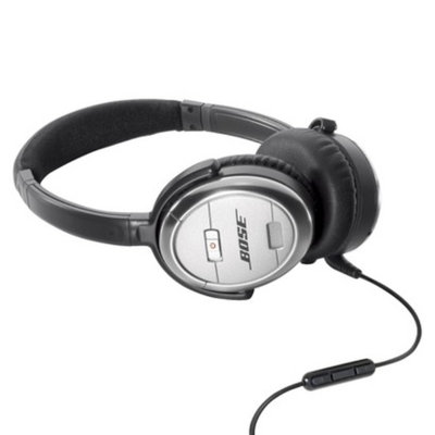 BoseQuietComfort 3 Acoustic Noise Cancelling headphones - Silver