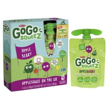 GoGo SqueeZ GoGo squeeZ appleberry 3.2oz 4pk