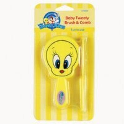 Looney Tunes Baby Tweety Brush & Comb
