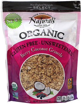New England Naturals - Organic Granola Select Berry Coconut - 12 oz.