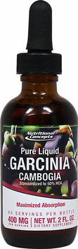 Nutritional Concepts Pure Liquid Garcinia Cambogia 400 mg - 2 fl oz