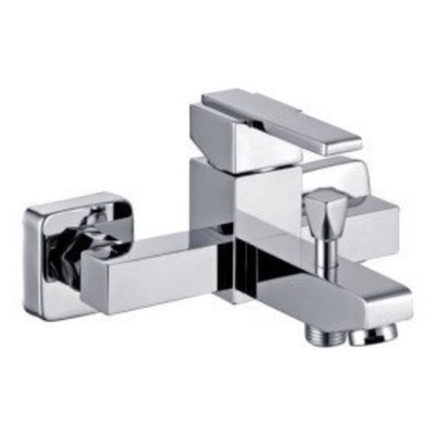 MICO Faucetland 011001648 Chrome Finish Solid Brass Tub Faucet (Without Hand Shower)