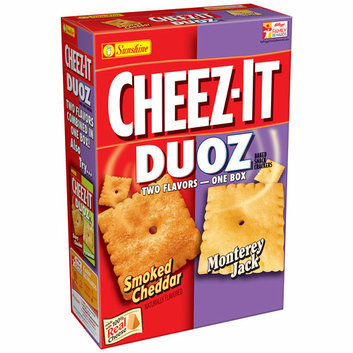 Cheez-It® Duoz Smoked Cheddar & Monterey Jack Baked Snack Crackers