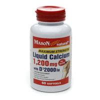 Mason Natural Liquid Calcium 1