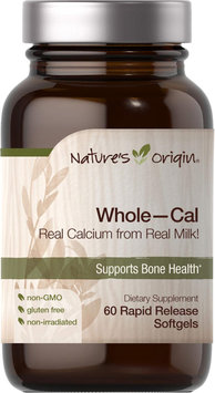 Nature's Origin Whole - Cal-60 Rapid Release Softgels