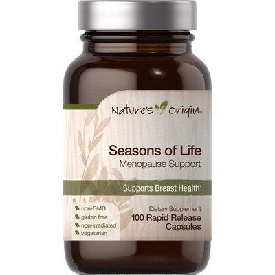 Nature's Origin Seasons Of Life Menopause Support-100 Rapid Release Capsules