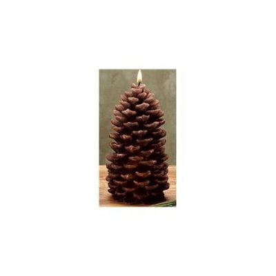 Deco Breeze FAL1101 Medium Rustic Pine Cone Candle