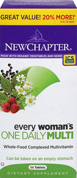 New Chapter Every Woman's One Daily Multivitamin - 86 Tablets