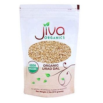 Jiva USDA Organics Urad Dal (Split Matpe Beans) 2 Pound