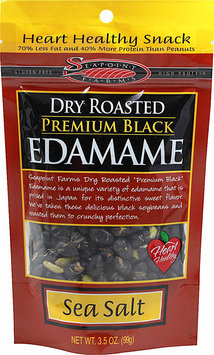 Seapoint Farms EDAMAME, BLACK, DRY RSTD, SS, (Pack of 12)