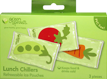 I Play Green Sprouts Lunch Chillers Garden Pattern 3 Pack