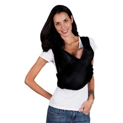 Baby K'tan Baby K'Tan Breeze Wrap Baby Carrier - Black - Large