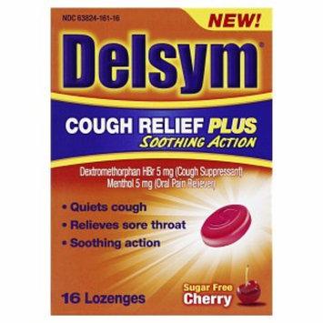 Delsym Cough Relief Plus Lozenges