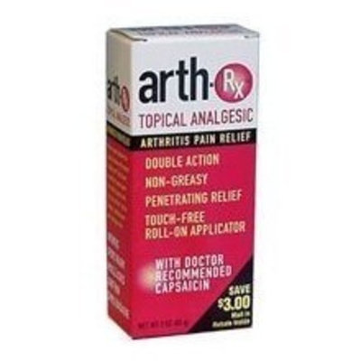 Arth-Rx Topical Analgesic Arthritis Pain Relief Lotion - 3 oz