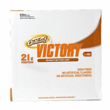 ISS Oh Yeah! Victory Protein Bars, Peanut Butter Chip, 12 ea
