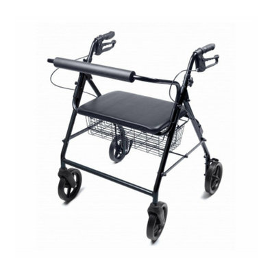 Lumex Walkabout Imperial Four-Wheel Rollator - Bariatric