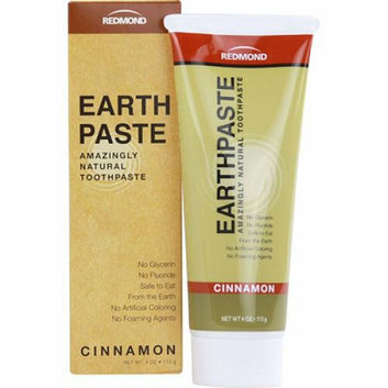 Redmond Trading Company Earthpaste Natural Toothpaste Cinnamon 4 oz