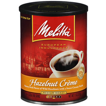 Melitta Hazelnut Creme Medium Roast Coffee, 11 oz