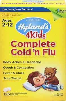 Hylands Hyland's 4Kids Complete Cold 'n Flu-125 Tablets