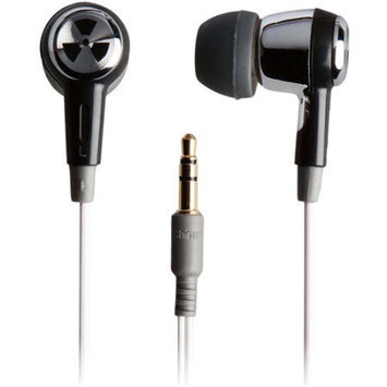 iFrogz EarPollution EP-OZONE-SB-09 Ozone Earbuds (Silver/Black)