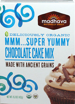 Madhava Organic MMM. Super Yummy Chocolate Cake Mix - 15.3 oz