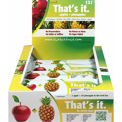 That's It Nutrition That's It Apple + Pineapple Bar-12 per Box