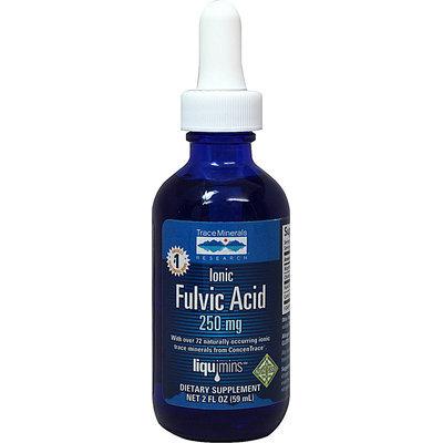 Trace Minerals Research Ionic Fulvic Acid - 250 mg - 2 fl oz - Vegan