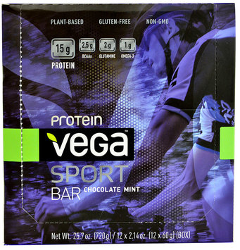 Vega - Vega Sport Plant-Based Protein Bar Chocolate Mint - 2.14 oz.