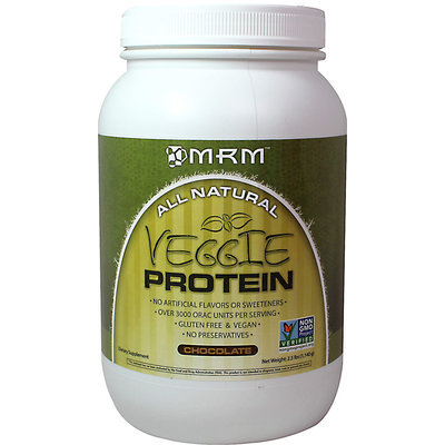 Metabolicresponsemodifier MRM All Natural Veggie Protein, Chocolate, 2.5 Pound