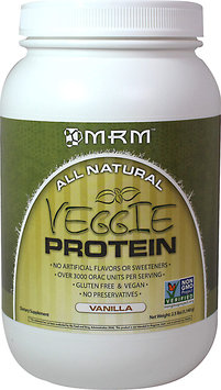 Metabolicresponsemodifier MRM All Natural Veggie Protein, Vanilla, 2.5 Pound