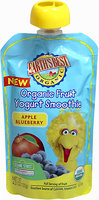 Earths Best Earth's Best Fruit Yogurt Smoothie Apple Blueberry