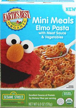 Hain Celestial Earth's Best Elmo Pasta with Meat Sauce & Veggies Mini Meals - 6oz