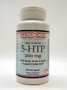 Protocol For Life Now Foods Protocol 5 HTP 200mg 60c