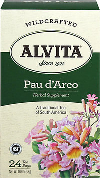 Alvita - Wildcrafted Pau d'Arco Tea - 24 Tea Bags