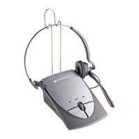 Plantronics S12 Noise-Canceling Corded Headset System