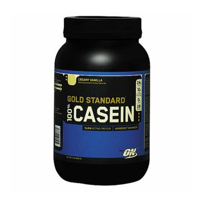 Optimum Nutrition 100% Casein Vanilla 2.0 Lb.