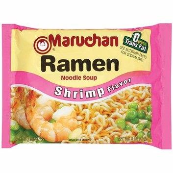 Maruchan Ramen Noodle Soup Shrimp Flavor