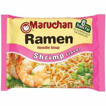 Maruchan Shrimp Flavor Ramen Noodle Soup