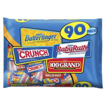 Nestlé Assorted Chocolate Bag: Butterfinger, Crunch, Baby Ruth, 100